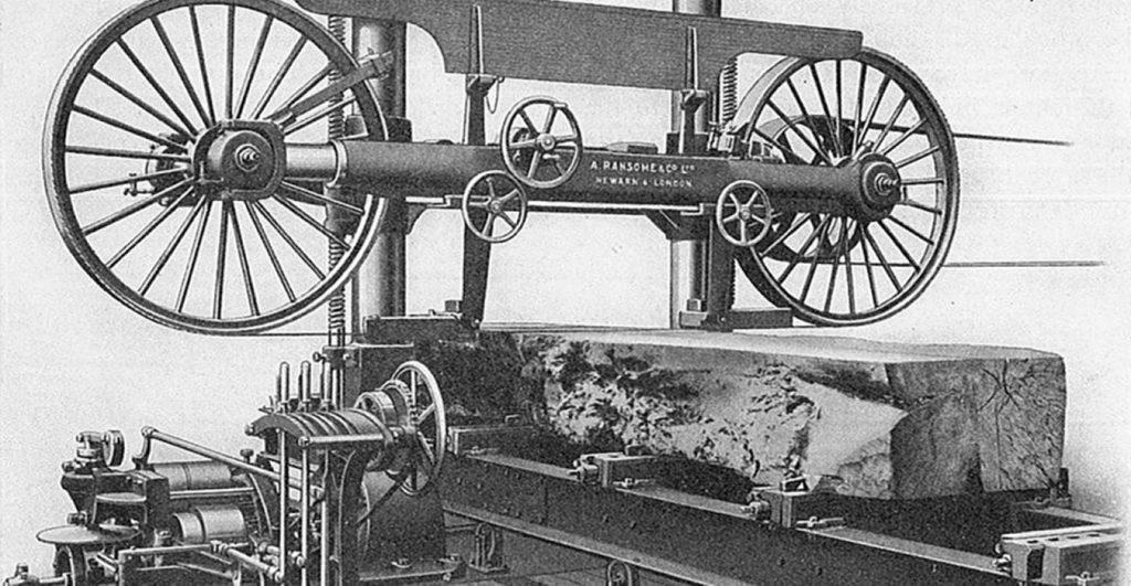 تاریخچه اولین ماشین آلات قله بر دستگاه و کارخانه در ایران