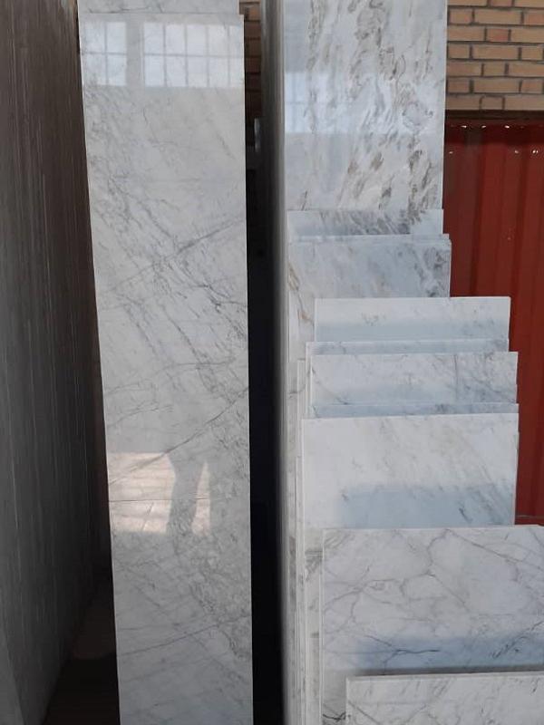 سنگ سفید مرمریت جوشقان با قیمت مناسب از معدن