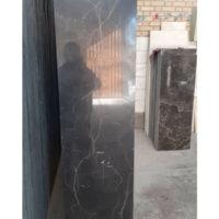 مرمریت مشکی پلاک سیاه نمای ساختمان نجف آباد ارزان ترین قیمت